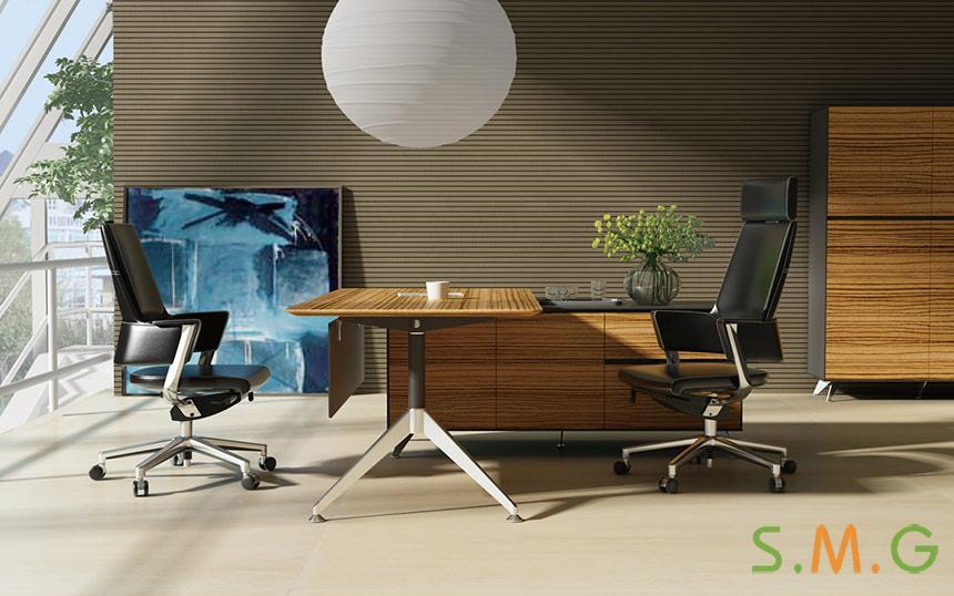 木纹老板桌4