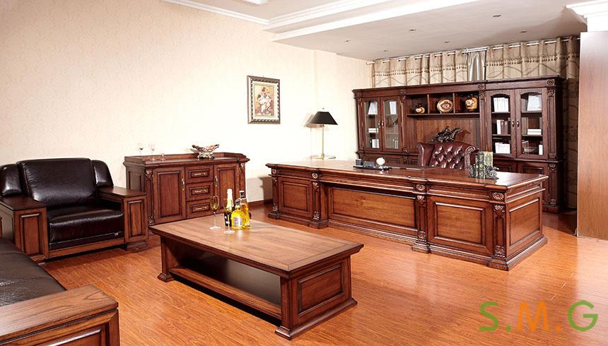 全实木办公桌2