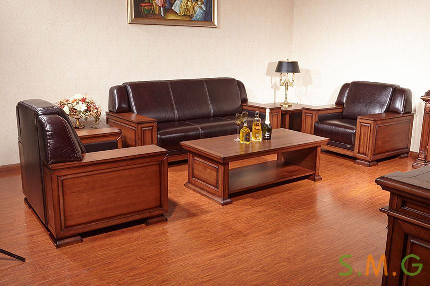 全实木办公桌6