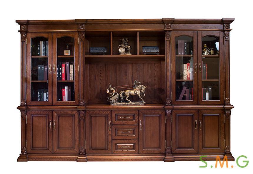 全实木办公桌5