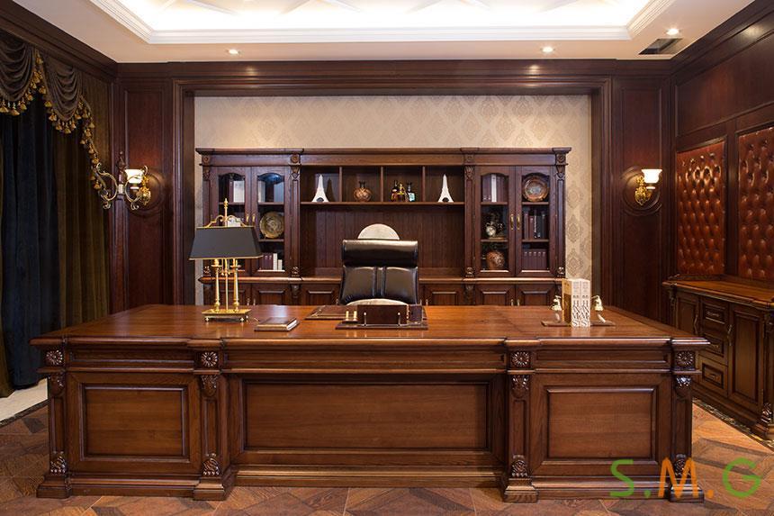 全实木办公桌