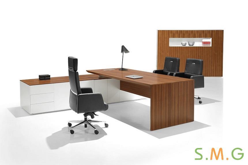 博德纯板式办公桌2