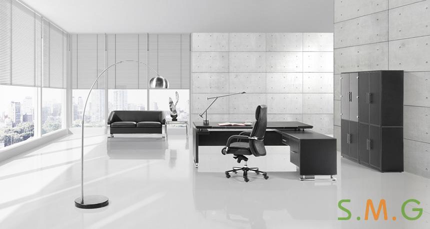 尊雅皮质办公桌4