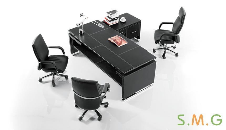 尊雅皮质办公桌2
