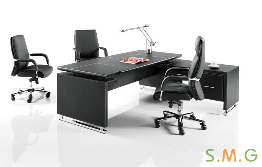 尊雅皮质办公桌