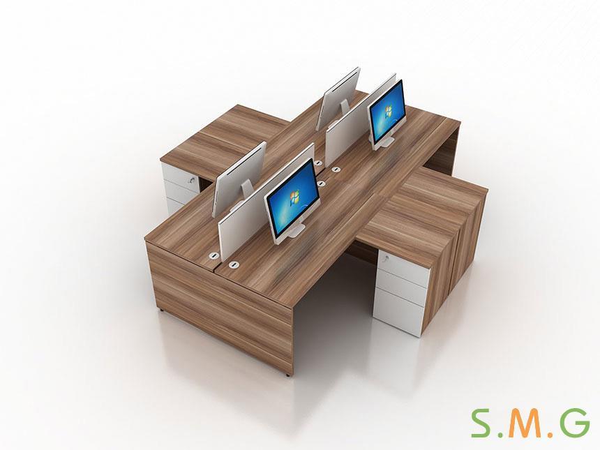 盛悦板式办公桌2