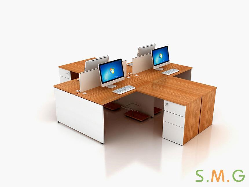 盛悦板式办公桌