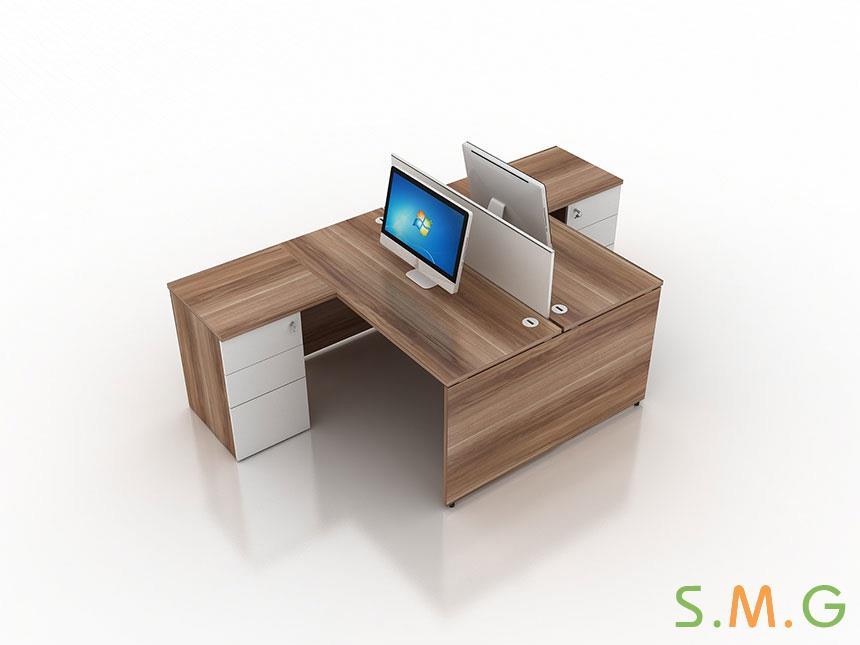盛悦板式办公桌4
