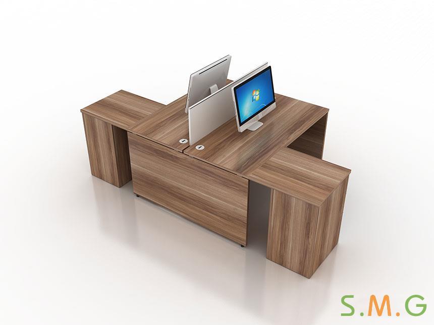 盛悦板式办公桌5