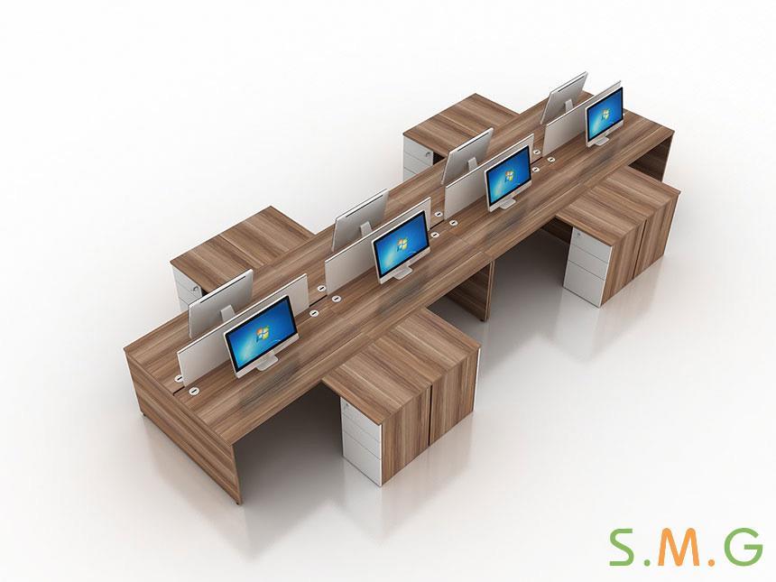 盛悦板式办公桌3