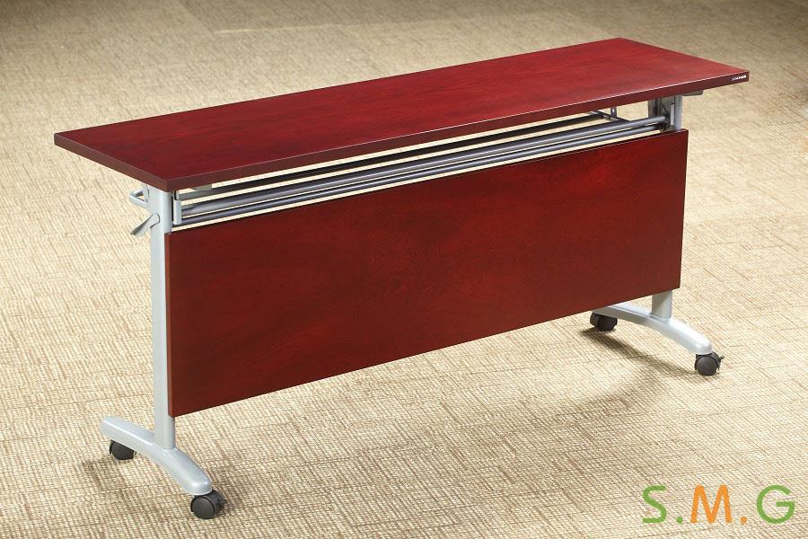长条桌_钢木培训桌4