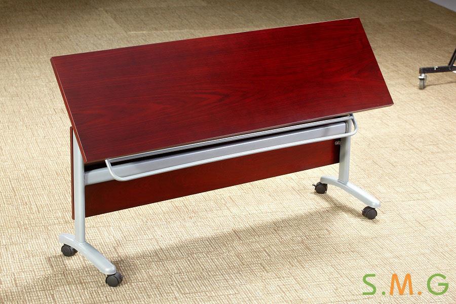 长条桌_钢木培训桌3