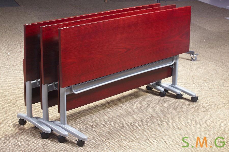 长条桌_钢木培训桌2