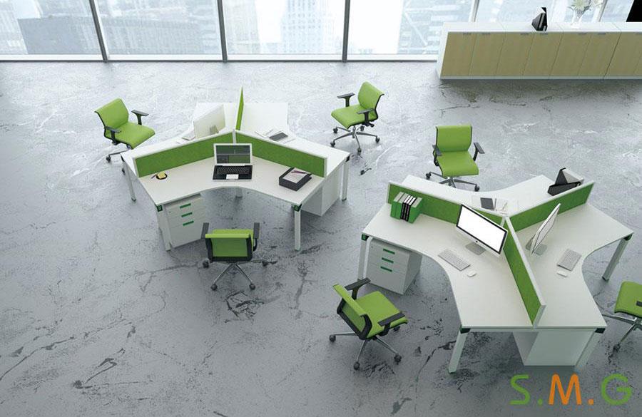 V型电脑桌2