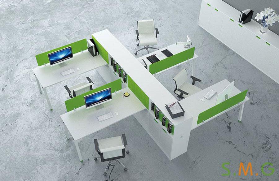 平排办公桌