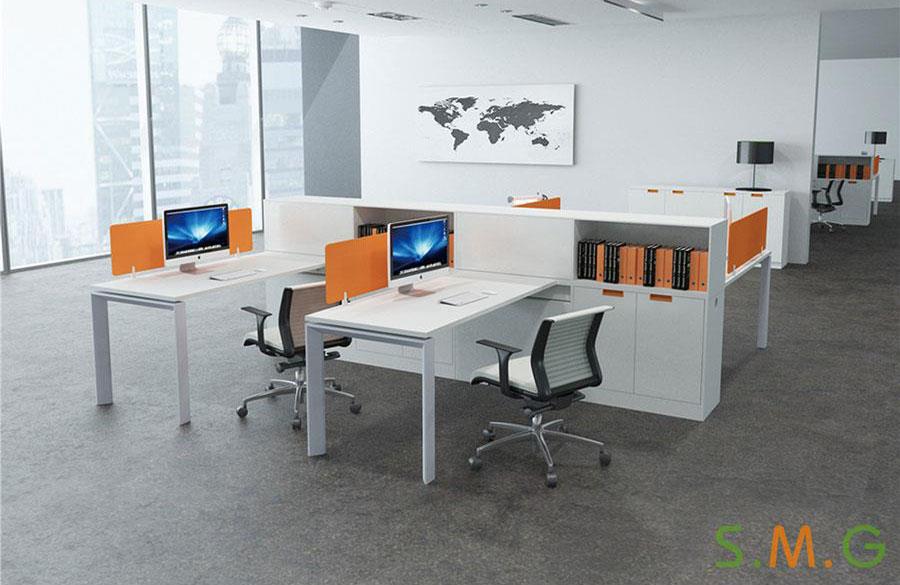 平排办公桌2