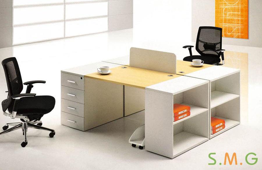 全板式员工桌3