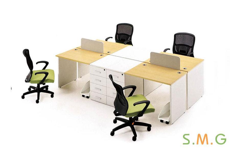 全板式员工桌2