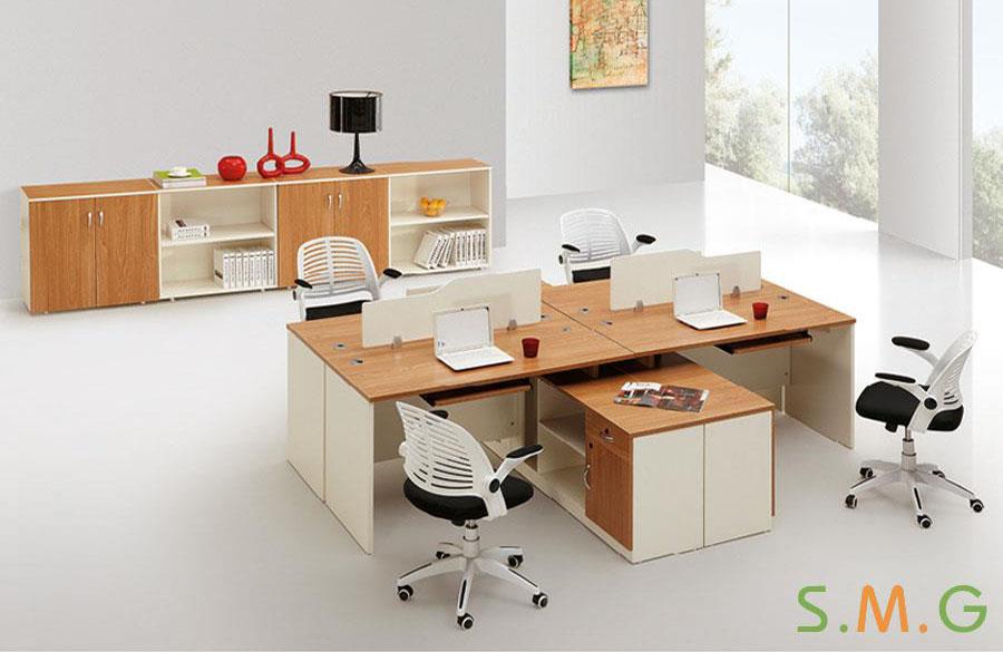 原木板式电脑桌2