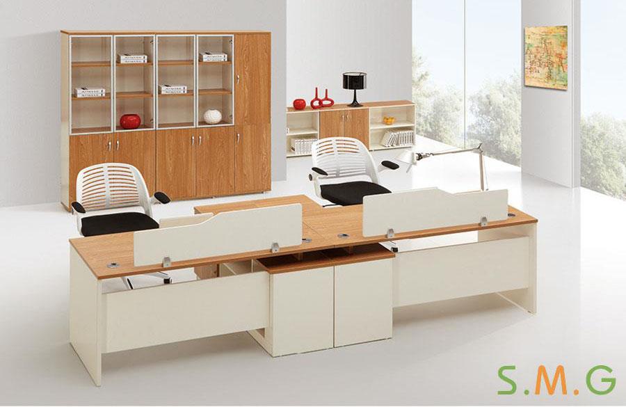 原木板式电脑桌8