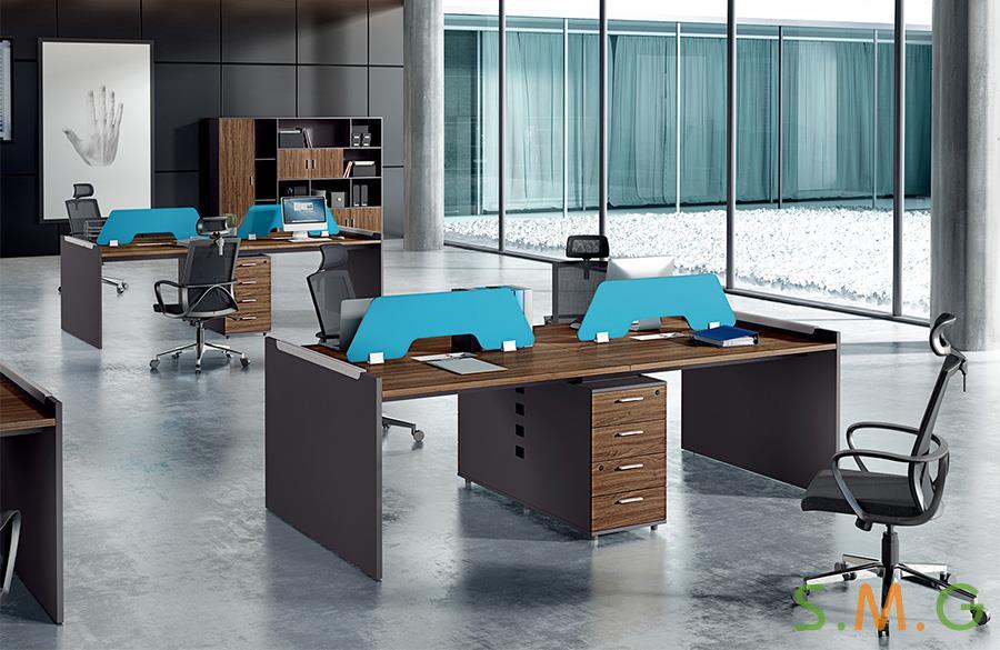 板式职员桌|员工位