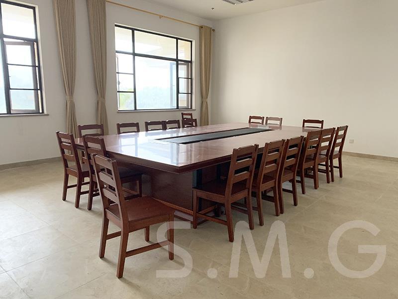小型实木会议桌